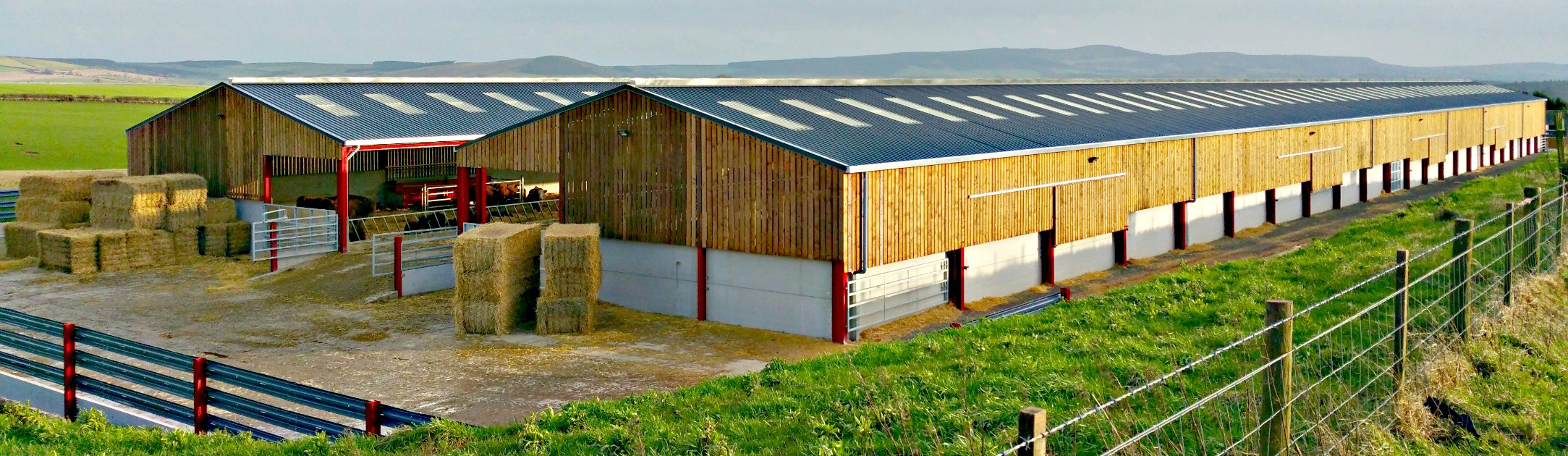 Glendale Engineering (Milfield) Ltd - Lilburn Estates Cattle Building