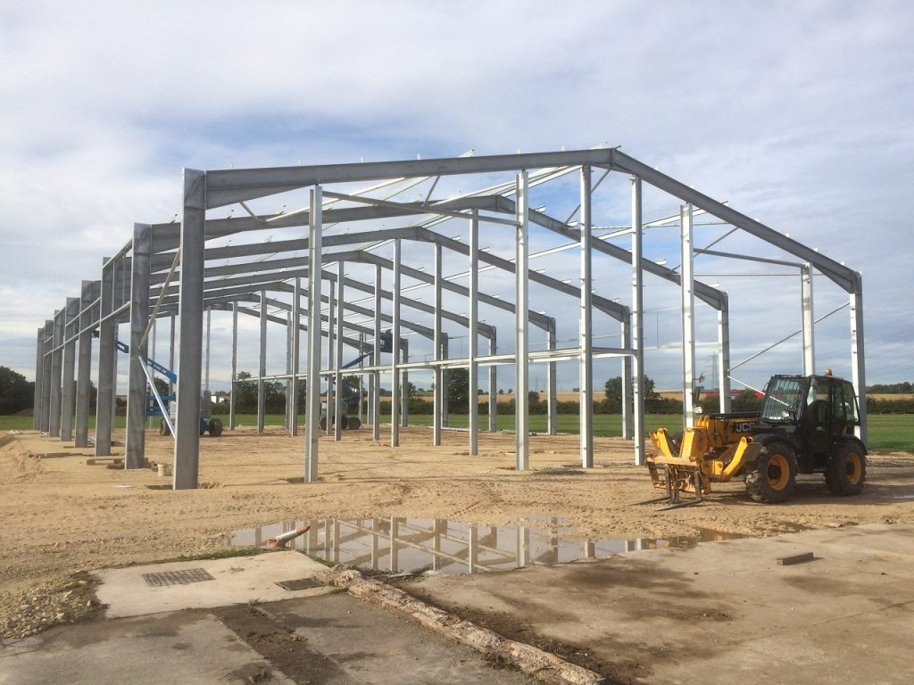 Timmins Engineering & Construction - Stancil Farm Structure