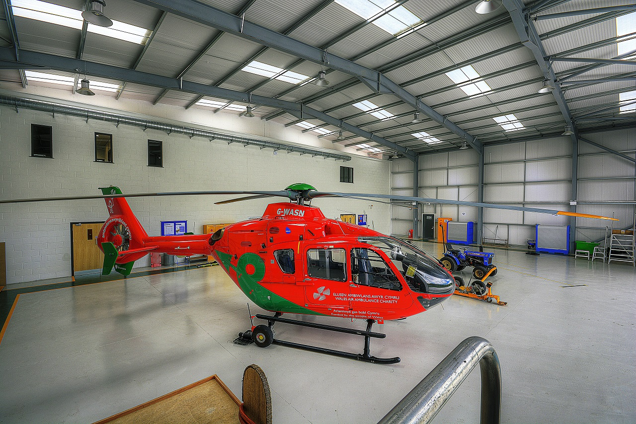 Shufflebottom - Wales Air Ambulance, Carmarthenshire