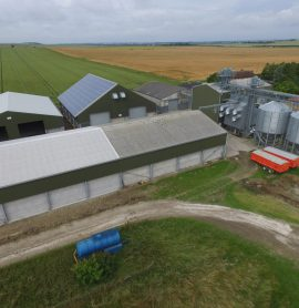 Wallington Farms' Latest Grain Store Aids Efficient Management