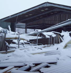 Snow Loading on Agricultural Buildings