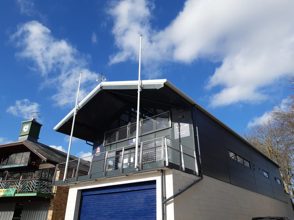 The City of Cambridge Rowing Club (5) Finished Front & Side View