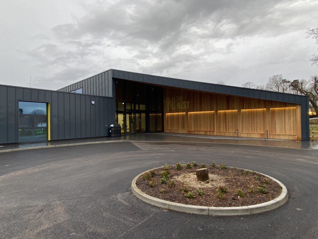 The Nest - Norwich City FC (3) Finished External Entrance